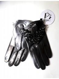 Перчатки с бисером Swarovski, модель Cassia