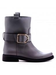 Ботинки  кожаные на меху 530512
