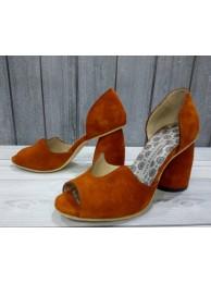 Туфли с глубоким вырезом