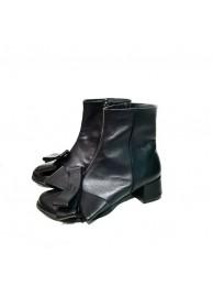 Ботинки  кожаные 18037-1