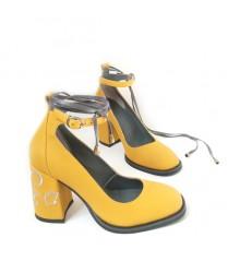 Туфли  кожаные 17025