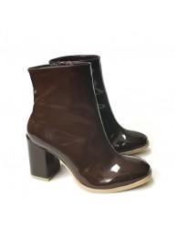Ботинки  лаковые 17034