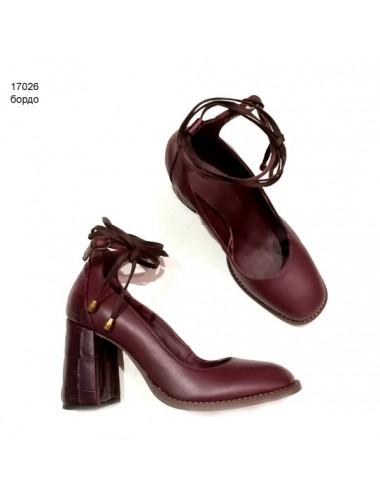 Туфли  кожаные 17026-1
