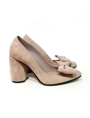 Туфли  замшевые 18039