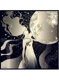 "Шелковый платок ""Луна """