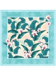 """Шелковый платок """" Орхидея"""""""