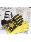 Перчатки кожаные, модель Verdi
