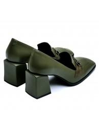 Туфли с квадратными носом 066112