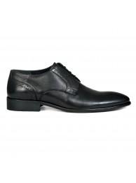 Туфли мужские кожаные черные