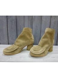 Ботинки замшевые 6983