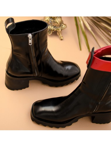 Ботинки кожаные 119-1