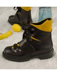 Ботинки кожаные 19011