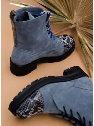 Ботинки замшевые 119-4