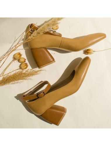 Туфли кожаные 2845