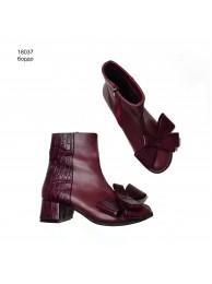 Ботинки  кожаные 18037