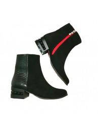 Ботинки  замшевые 18040