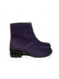 Ботинки  замшевые 18040-1