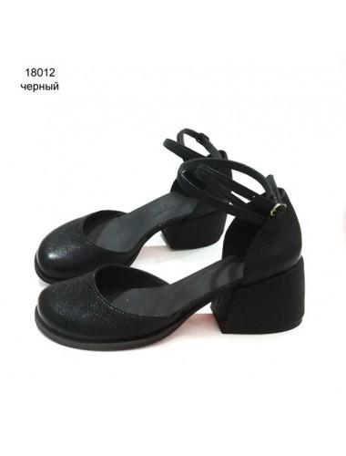 Туфли-деленки  кожаные 18012-1