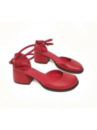 Туфли-деленки  кожаные 18012-2