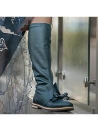 Сапоги  кожаные 18048