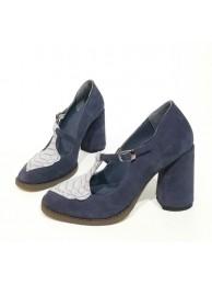 Туфли  замшевые 19008