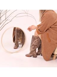 Сапоги  кожаные 15026-2